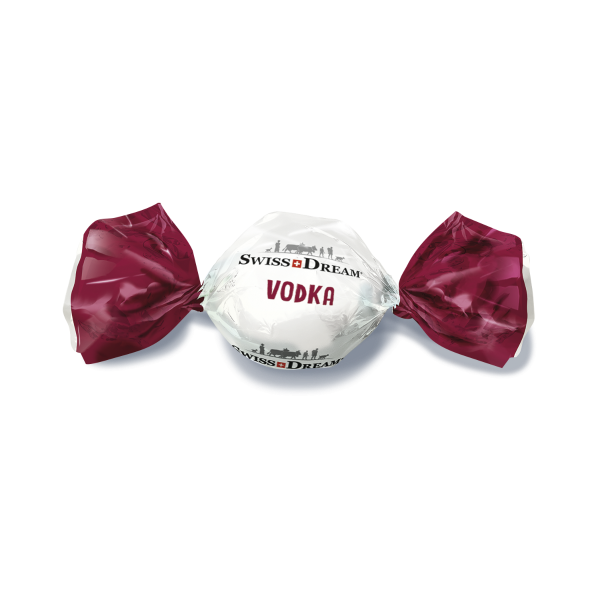 Boules de chocolat noir fourré à la ganache de chocolat au lait et à la vodka Xellent®