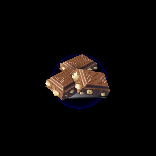 Tablette lait-noisettes 300g